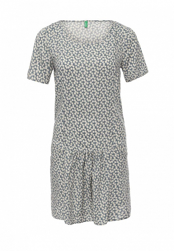 Платье-миди Benetton (Бенеттон) 4A7ESV1V5: изображение 1