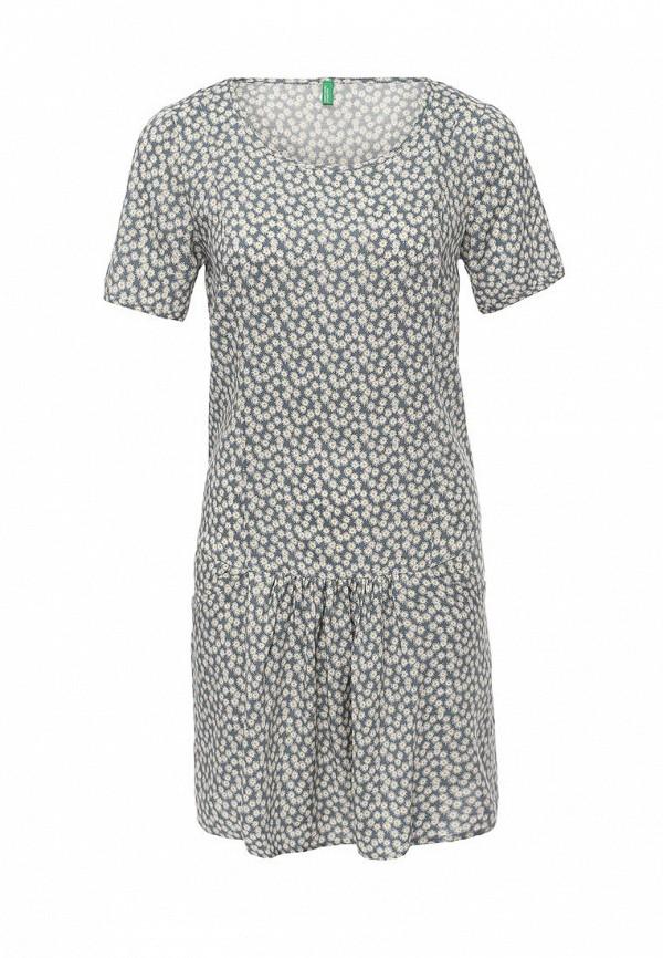 Платье-миди Benetton (Бенеттон) 4A7ESV1V5: изображение 2