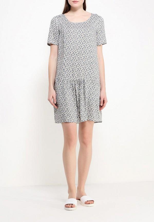 Платье-миди Benetton (Бенеттон) 4A7ESV1V5: изображение 3