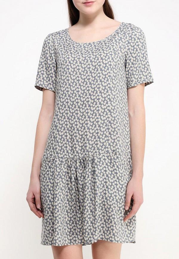Платье-миди Benetton (Бенеттон) 4A7ESV1V5: изображение 4