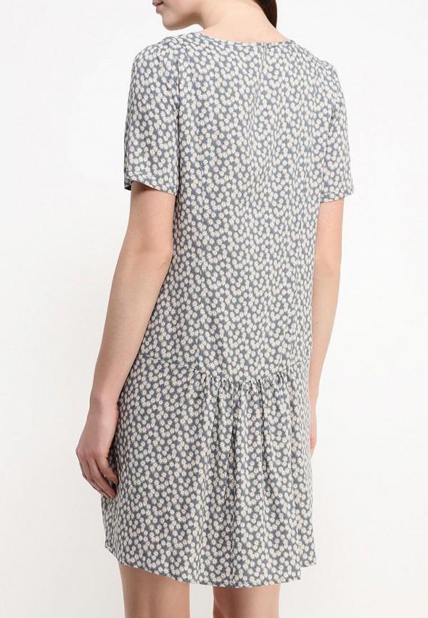 Платье-миди Benetton (Бенеттон) 4A7ESV1V5: изображение 5
