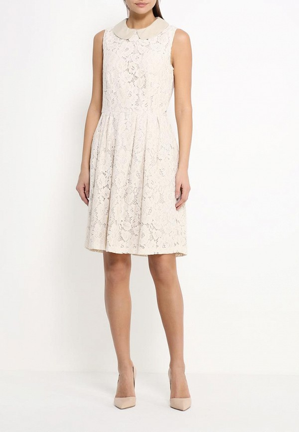 Платье-миди Benetton (Бенеттон) 4TN95V1Z4: изображение 2