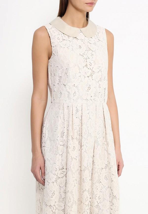 Платье-миди Benetton (Бенеттон) 4TN95V1Z4: изображение 3