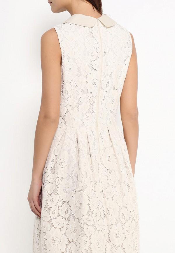 Платье-миди Benetton (Бенеттон) 4TN95V1Z4: изображение 4