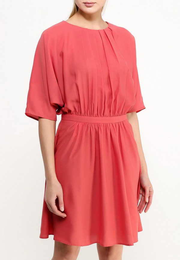 Платье-миди Benetton (Бенеттон) 4TU75V1Z3: изображение 4