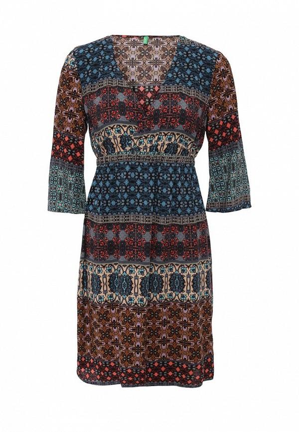 Платье-миди Benetton (Бенеттон) 4A8LSV6R5: изображение 1