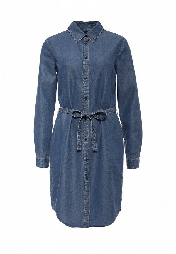 Платье-миди United Colors of Benetton (Юнайтед Колорс оф Бенеттон) 4ABV5V6S3