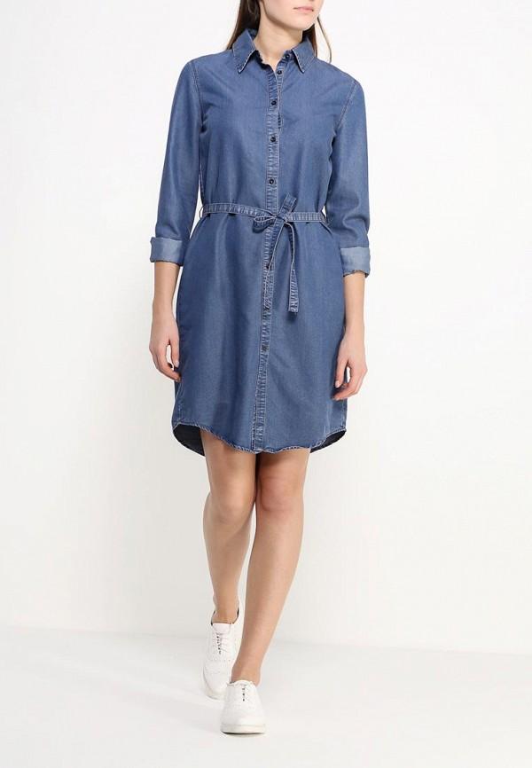 Платье-миди Benetton (Бенеттон) 4ABV5V6S3: изображение 2