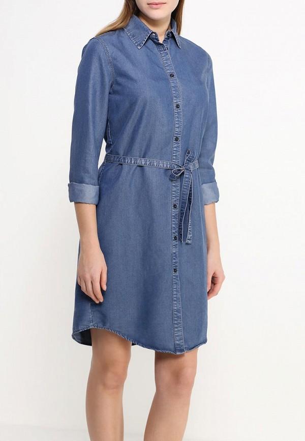 Платье-миди Benetton (Бенеттон) 4ABV5V6S3: изображение 3