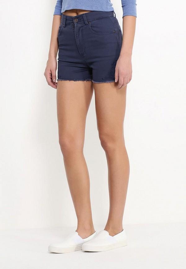 Женские джинсовые шорты Benetton (Бенеттон) 4TG2590I4: изображение 3