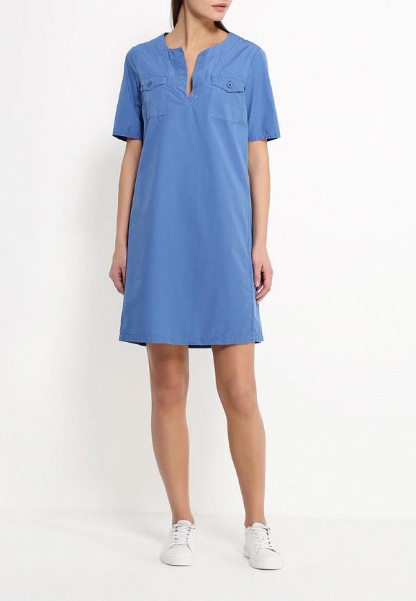 Платье-миди Benetton (Бенеттон) 4F31EV6O4: изображение 2