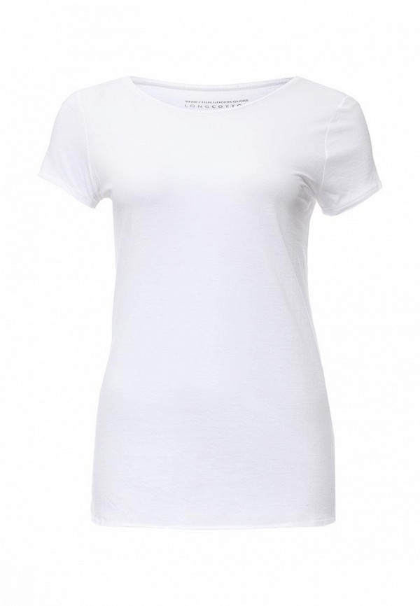 Домашняя футболка Benetton (Бенеттон) 3Z6Z3M161: изображение 1