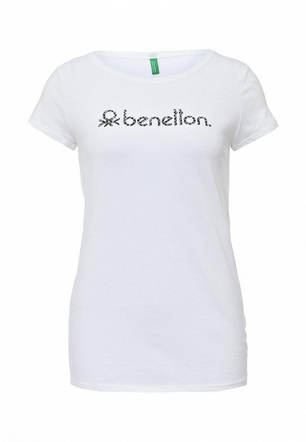 Футболка с надписями United Colors of Benetton (Юнайтед Колорс оф Бенеттон) 3P2JE1831