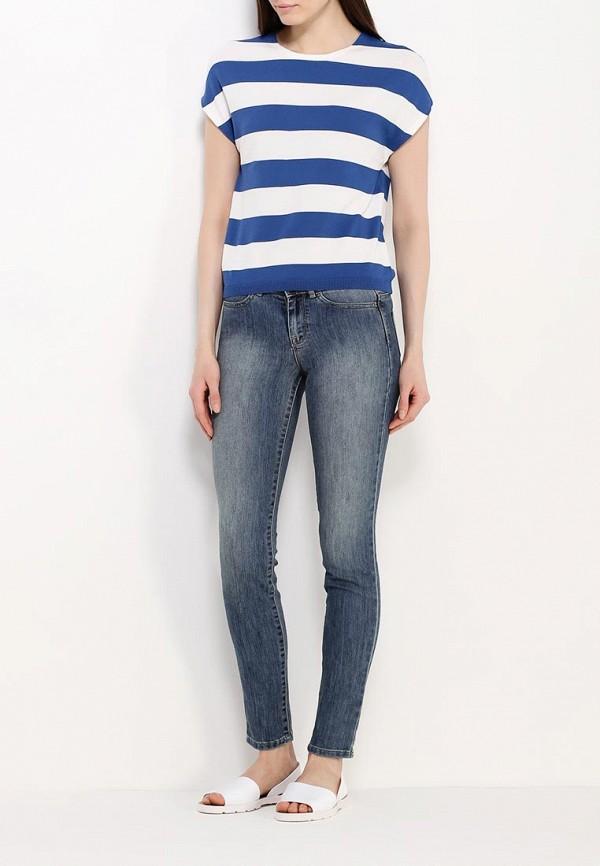 Зауженные джинсы Benetton (Бенеттон) 4DGB57104: изображение 2