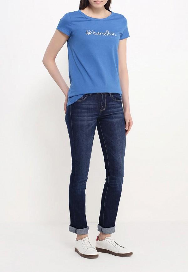 Прямые джинсы Benetton (Бенеттон) 4I3UZ70A4: изображение 2