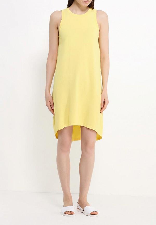 Платье-миди Benetton (Бенеттон) 14ENV8053: изображение 2