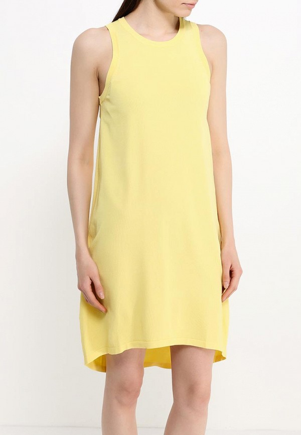 Платье-миди Benetton (Бенеттон) 14ENV8053: изображение 3