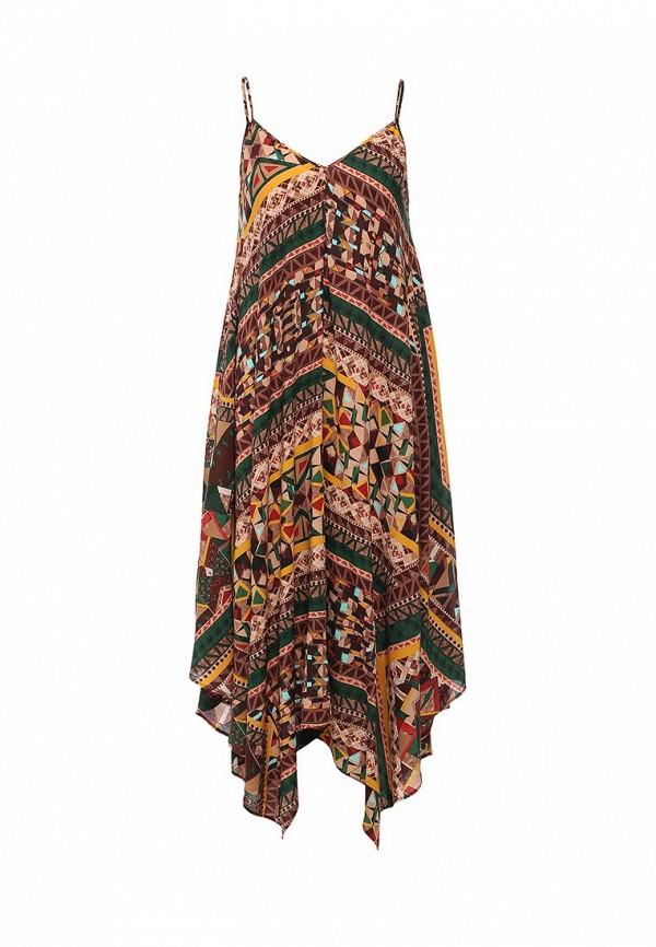 Платье-миди Benetton (Бенеттон) 4B3TSV6X3: изображение 1