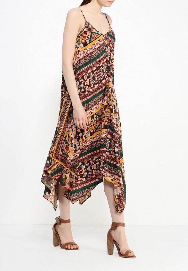 Платье-миди Benetton (Бенеттон) 4B3TSV6X3: изображение 3