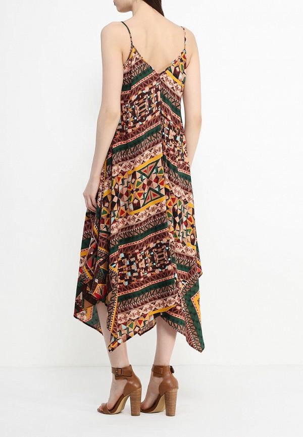 Платье-миди Benetton (Бенеттон) 4B3TSV6X3: изображение 4