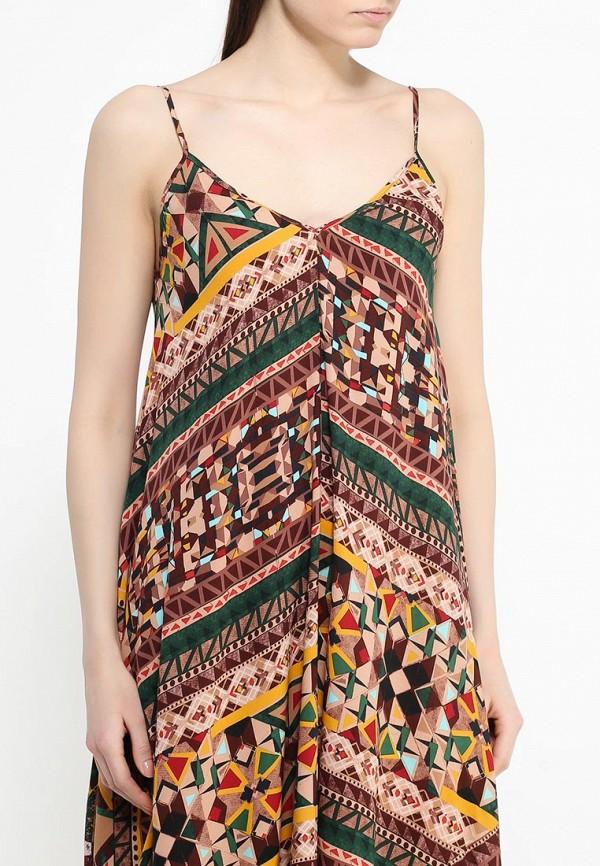 Платье-миди Benetton (Бенеттон) 4B3TSV6X3: изображение 5