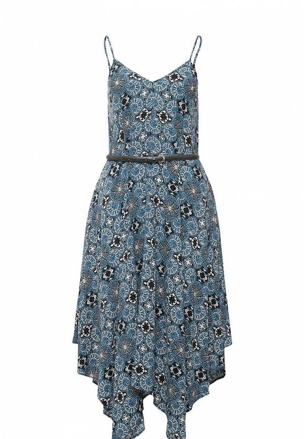 Платье-миди Benetton (Бенеттон) 4B3TSV6X3: изображение 6