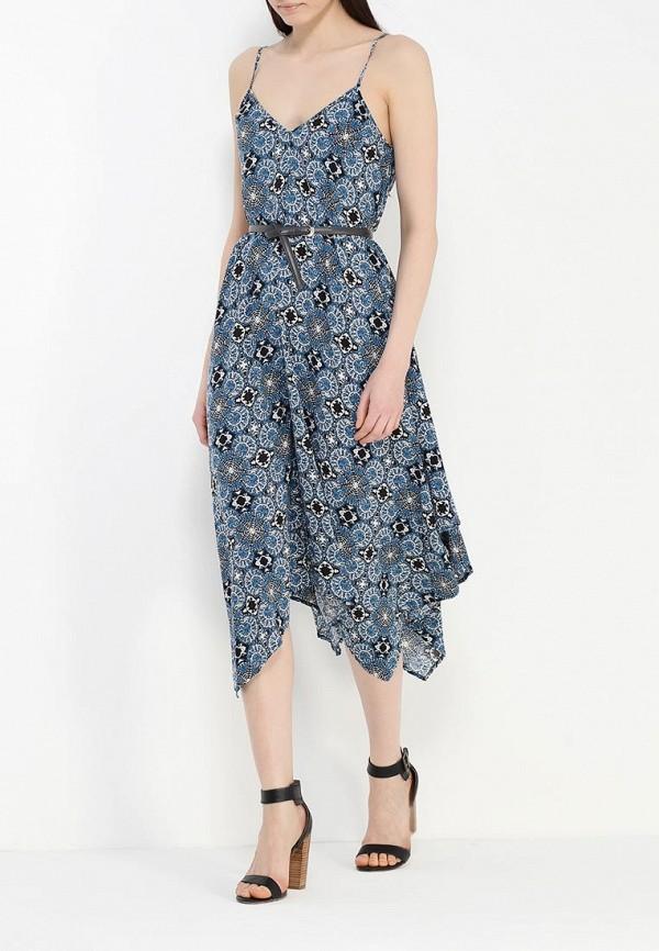Платье-миди Benetton (Бенеттон) 4B3TSV6X3: изображение 7