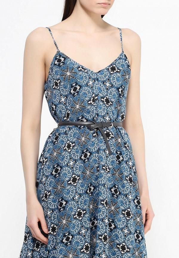 Платье-миди Benetton (Бенеттон) 4B3TSV6X3: изображение 9