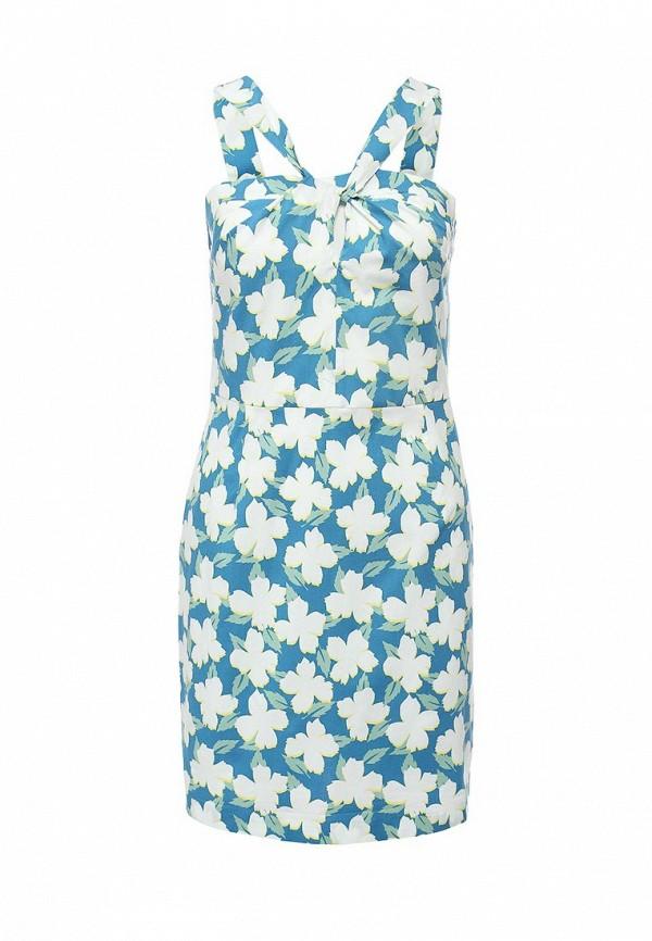 Платье-миди Benetton (Бенеттон) 4C91SV6V4: изображение 1