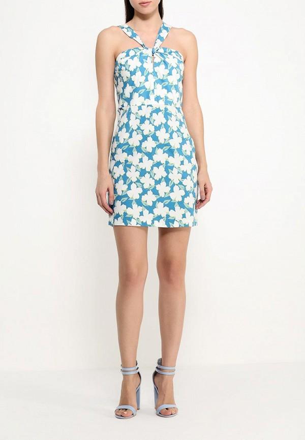 Платье-миди Benetton (Бенеттон) 4C91SV6V4: изображение 2