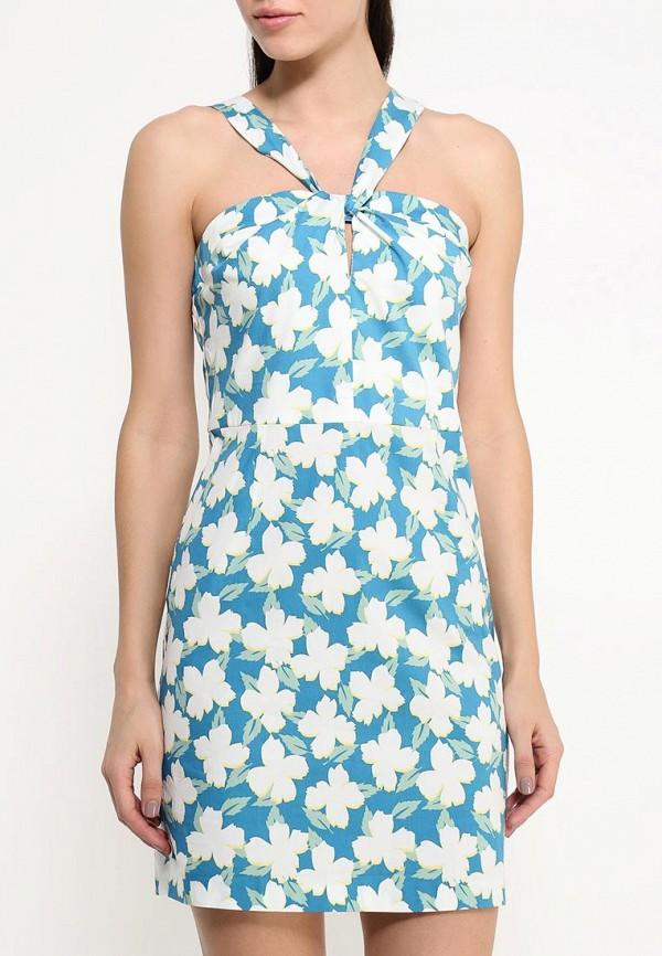 Платье-миди Benetton (Бенеттон) 4C91SV6V4: изображение 3