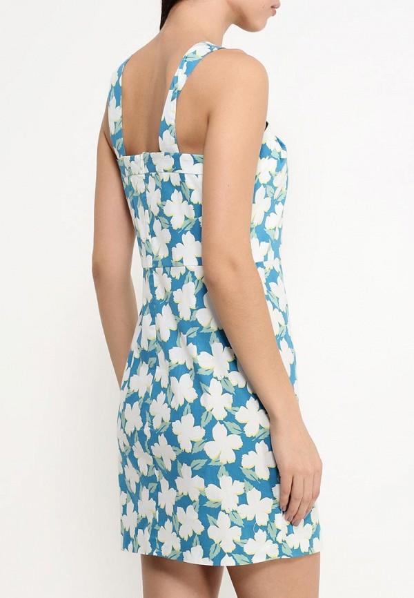 Платье-миди Benetton (Бенеттон) 4C91SV6V4: изображение 4