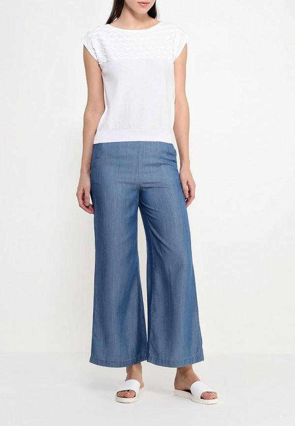 Женские широкие и расклешенные брюки Benetton (Бенеттон) 4S2RK54Q5: изображение 2