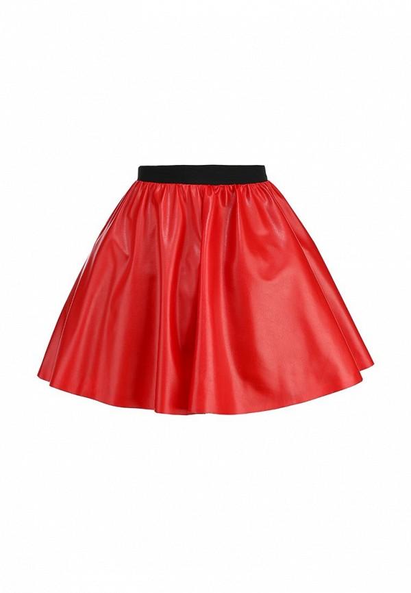 Широкая юбка Be In Ю 27мини+подъюбник-016кож-3сет: изображение 1