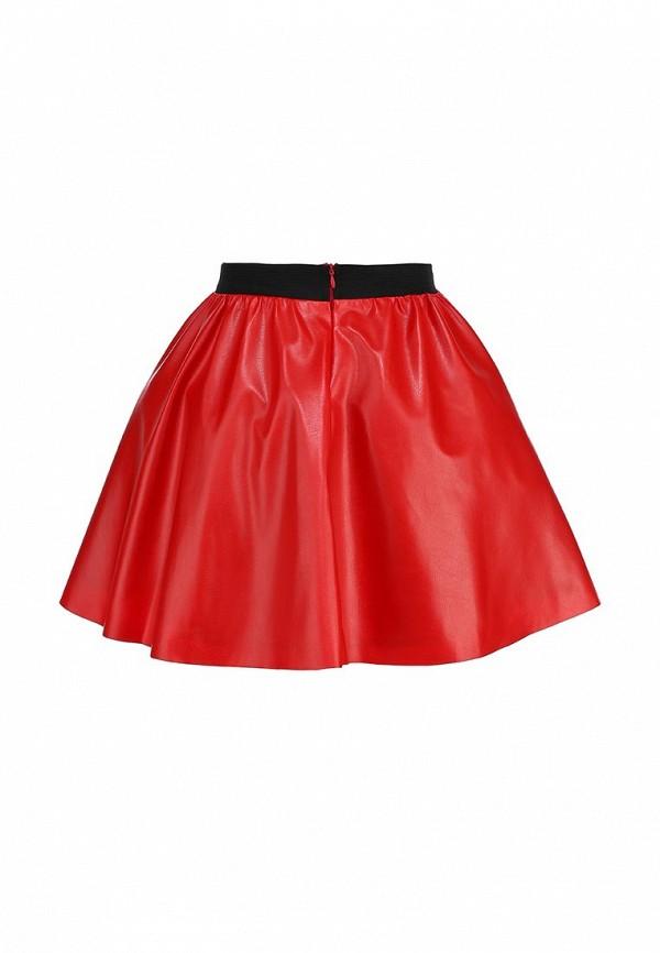 Широкая юбка Be In Ю 27мини+подъюбник-016кож-3сет: изображение 2