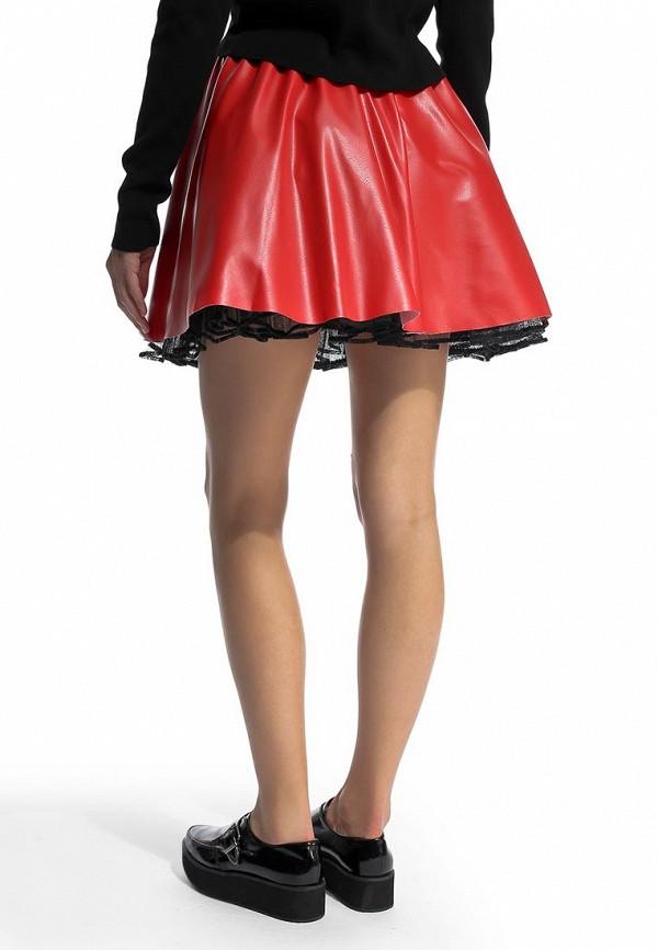 Широкая юбка Be In Ю 27мини+подъюбник-016кож-3сет: изображение 5