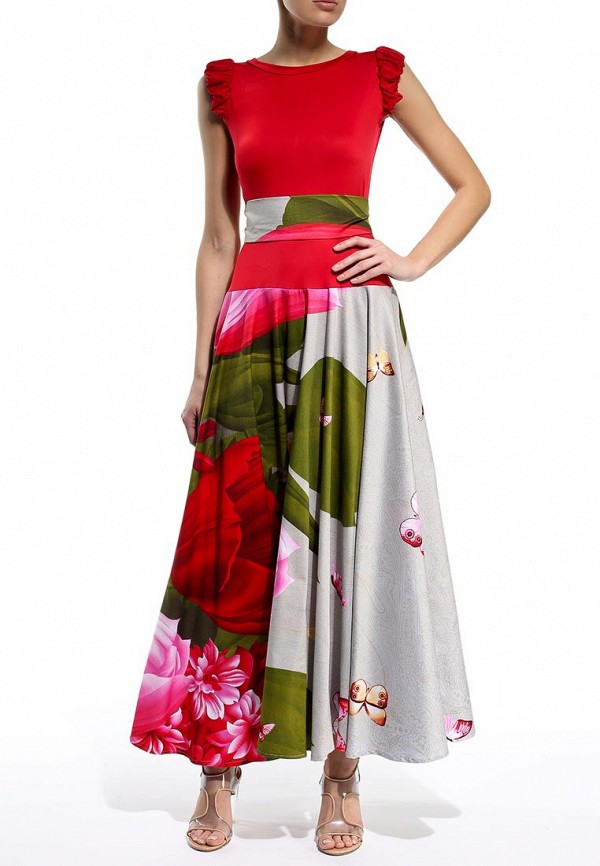 Платье-макси Be In Пл 80х-016-721: изображение 3