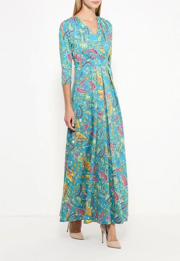 Платье-макси Be In Пл 128х-1054х: изображение 2