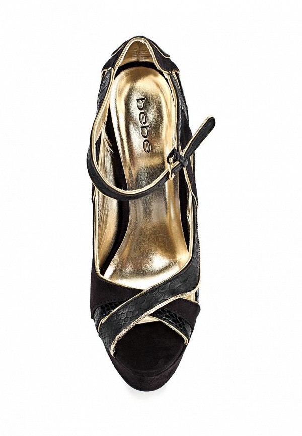 Босоножки на каблуке Bebe (Бебе) B026F1010000: изображение 4