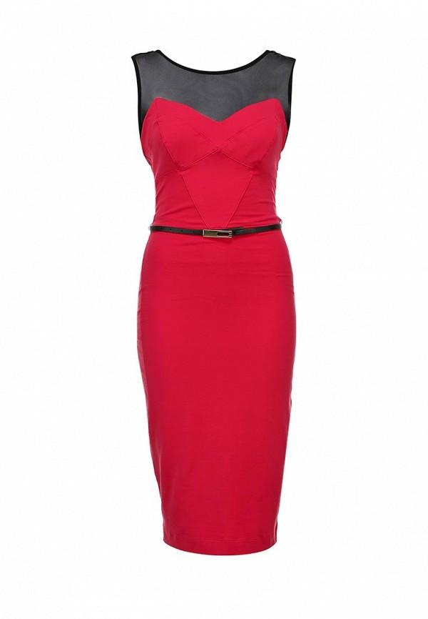 Платье-миди Bebe (Бебе) 70B5S103M472: изображение 1