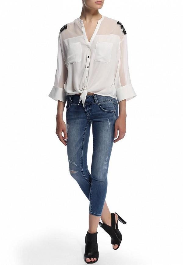 Зауженные джинсы Bebe (Бебе) 30AQ9101S345: изображение 5