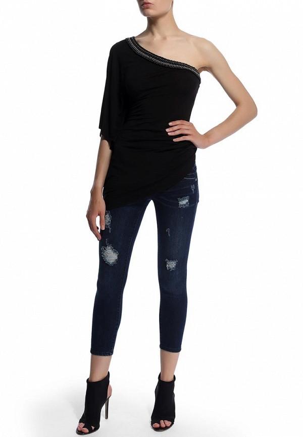 Зауженные джинсы Bebe (Бебе) 30AQ9102S345: изображение 5