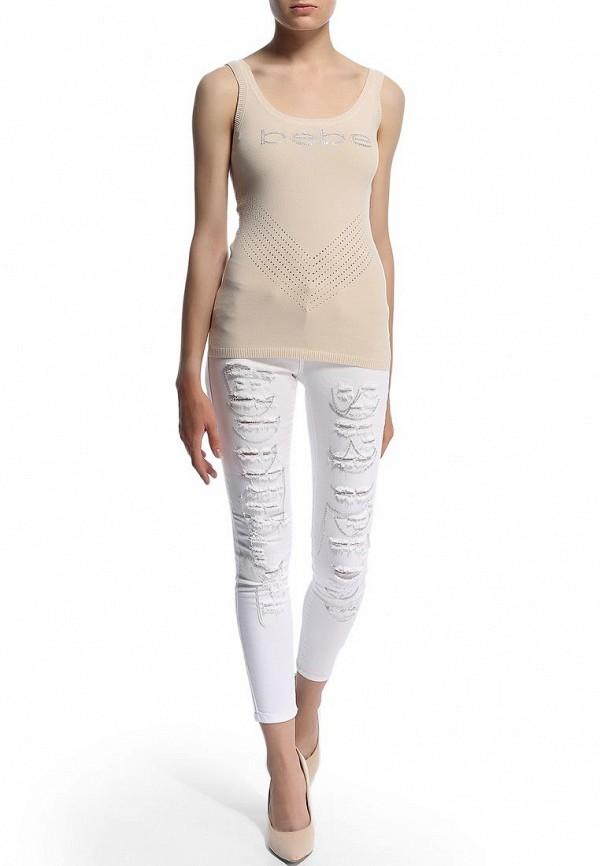 Женские зауженные брюки Bebe (Бебе) 30AW7101Q389: изображение 7