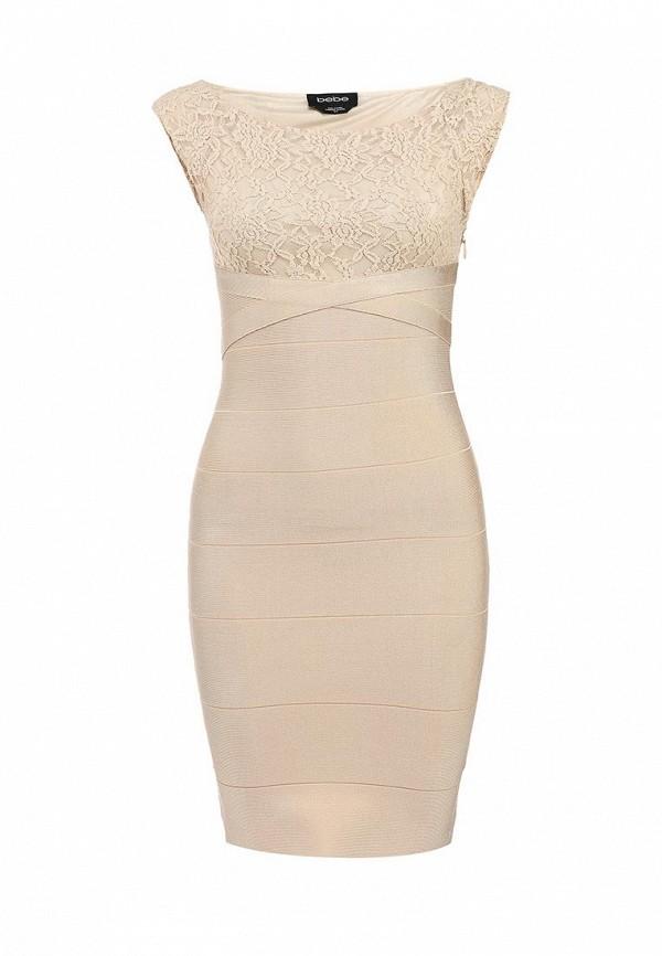 Платье-мини Bebe (Бебе) S0FNY1019500: изображение 1