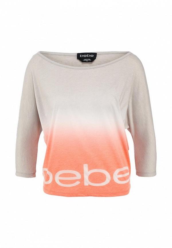 Футболка с надписями Bebe (Бебе) 60Q6L101V171: изображение 1