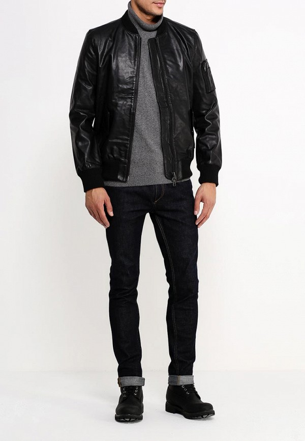 Кожаная куртка Bellfield B ROUEY: изображение 2