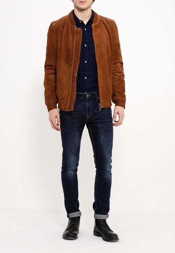 Кожаная куртка Bellfield HADON: изображение 2