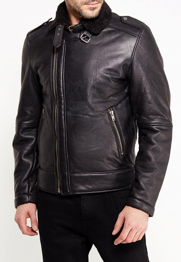 Куртка кожаная Bellfield Bellfield BE008EMWSM95 bellfield рубашка