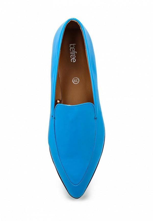 Туфли на плоской подошве Befree (Бифри) 1616033020: изображение 4
