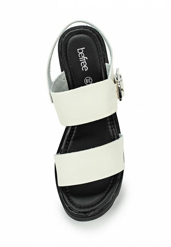 Босоножки на каблуке Befree (Бифри) 1626033035: изображение 4